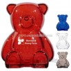 Plastic bear bank