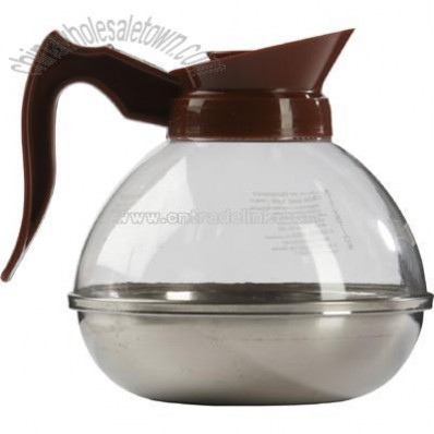 Plastic coffee decanter