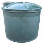 Plastic gardening tank with large capacity of 3000 liters