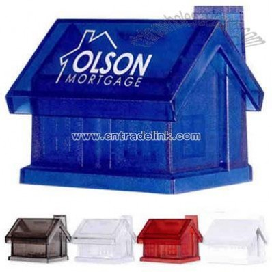 Plastic house bank