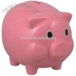 Plastic original pig shaped coin bank