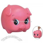 Plastic pig bank toy