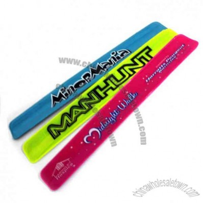 Plastic slap band, standard size is 30mm x 210mm