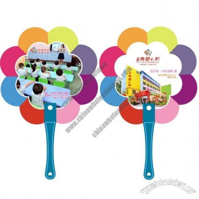 Plastic special-shaped Hand Fan