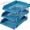 Plastic top-grade 3 layer file tray