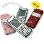 Platinum Leather Mobile Phone