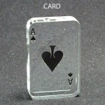 Playing Card Shaped Acrylic Award