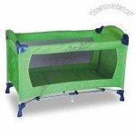Playpen, Made of 150D Nylon and Steel, with Accessory Toy Bag and Game Entrance