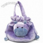 Plush Cow Hand Bag