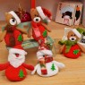 Plush Dolls Christmas Tree Ornaments