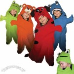 Plush Kids Hooded Animal Blanket - 38