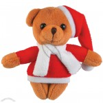 Plush Mini Christmas Bears