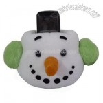 Plush Mobile Phone Holder /Snowman