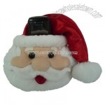 Plush Mobile Phone Holder/Santa Claus