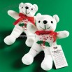Plush Religious Candy Cane Bean Bag Bears