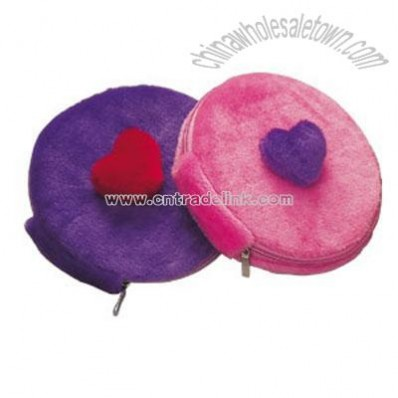 Plush Round CD Bag