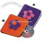 Plush Square CD Wallet