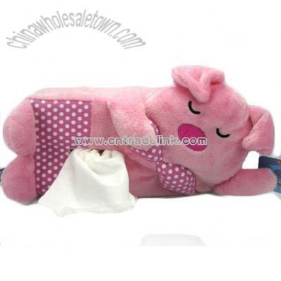 Plush Tissue Case