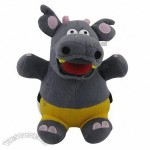 Plush Toys in Hippo Shape