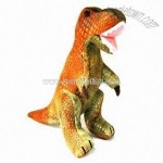 Plush and Polymer Expansion Toy Dinosaur