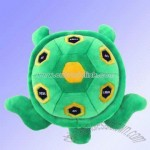 Plush and Stuffed Tortoise Toy with FM Auto-Scan Radio