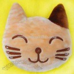 Plush and Stuffed Toy Cat Head Pillow/Cushion FM Scan Radio