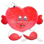 Plush heart design