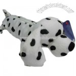 Plush pen case spot dog