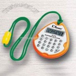 Pocket Calculator with Cord