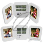 Pocket LCD Clock with Photo Frame