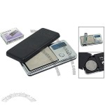 Pocket Size Black 50gx0.01g Digital LCD Weight Scale