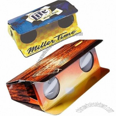 Pocket Sized Folding Cardboard Binoculars