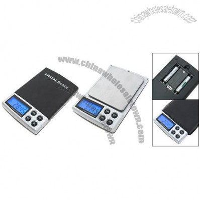 Pocket Stainless Steel Digital LCD Weight Scale