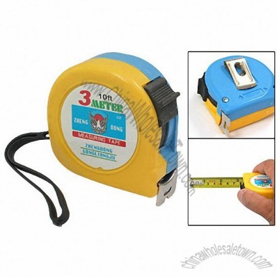 Pocket Tape Measure Measuring W. Lock 3 Meters
