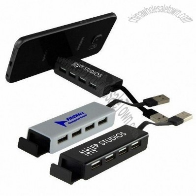 Pocket USB Hub with Stand