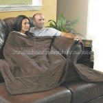 Pocketed Fleece TV Blanket