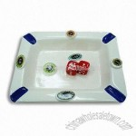 Poker Ashtray in White Color