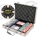 Poker Chip Set With 200 Custom Poker Chips