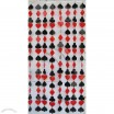 Poker Design PVC Door Curtain