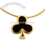 Poker Necklace