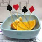 Poker Party Fruit Fork