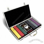 Poker Set, Includes Dices and Gift Boxes