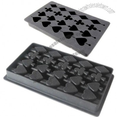 Poker String Silicone Ice Cube Tray
