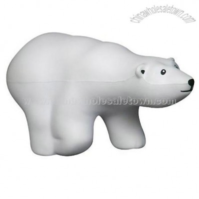 Polar Bear Stress Ball