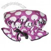 Polka Dots Satin Shower Cap - Good Hair Day