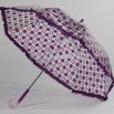 Polka Purple Ruffles umbrella