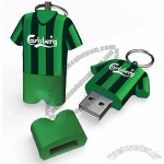 Polo Shirt USB Flash Disk with Keyring