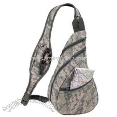 Polyester Digital Camo Back Pack