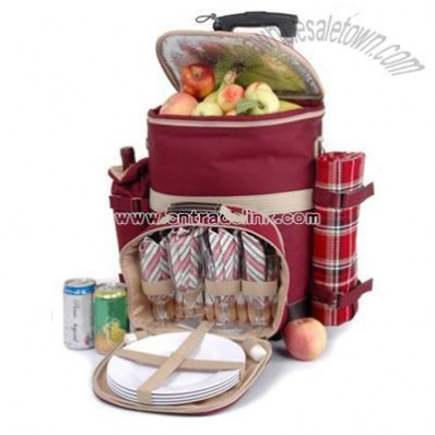Polyester Picnic Bag With Trolley - Adventurer Collection
