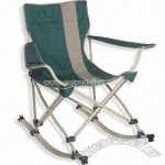 Polyester Rocking Chair with PE Coating
